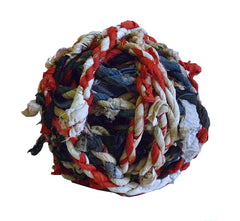 A Ball of Rustic Twisted Cotton Rope: Leftover Rag