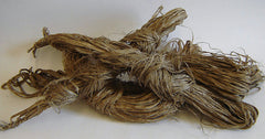 A Switch of Hemp Fiber: Unplied Asa