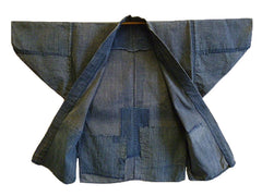 A Beautifully Simple 19th Century Cotton Noragi: Authentic Work Wear