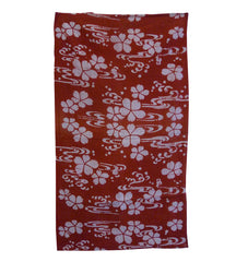 A Short Length of Itajime or Kyoukechi Cotton: Cherry Blossoms