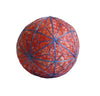 An Old Temari or Gift Ball: Cotton and Silk Floss
