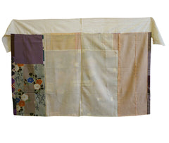 A Pieced and Patched Reversible Silk Koshimaki: Two Interesting Sides