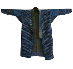 A Piece Constrcuted Work Kimono: Reversible