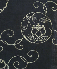 A Length of Pigment Stenciled Cloth: Lyrical Roundels