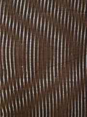 A Length  of Nineteenth Century Kumanozome: Stenciled Moire