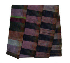 A Rustic Obi: Multi-Colored Warp