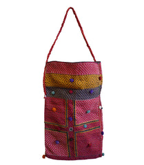 A Kambira Stitched Rajasthani Bag: Recycled Cottons