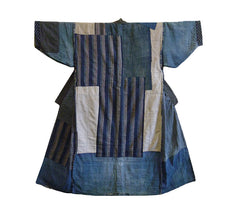 A Marvelous Reversible Boro Kimono: Two Good Sides