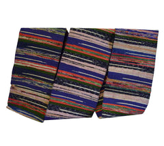 A Beautifully Multi-Colored Sakiori Obi: Ragweave