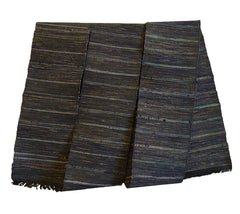 A Rich, Dark Colored Sakiori Obi: Ragweave