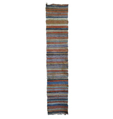 A Beautifully Woven Length of Sakiori: Rag Weave