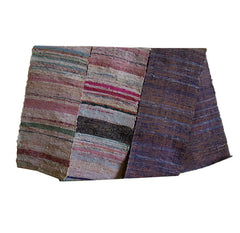 A Beautiful Rustic Textured Sakiori Obi: Rag Weave