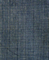 A Length of Faded Sankuzushi Cotton: 19th Century Basketweave