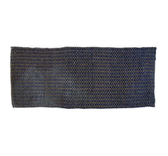 A Fragment of Sashiko Stitched Cotton: Striped