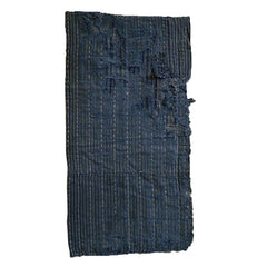 A Ragged, Layered Sashiko Stitched Diaper: Old Cloth