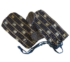 A Pair of Sashiko Stitched Hand Guards