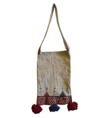 A Hand Embroidered Gujarati Bag: Indiginous Charan Caste
