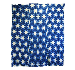 A Very Large Sekka Shibori Cloth: Six Panels
