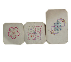A Set of Three Semamori Stitches: Protective Amulets