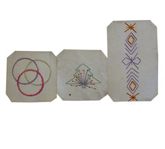 A Set of Three Semamori Stitches #3: Protective Amulets