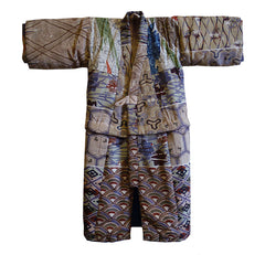 A Child's Silk Kimono and Undergarment Set: Recycled Kimono Pattern Sampler