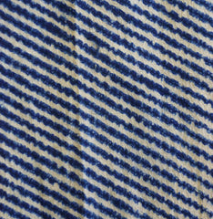 A Length of Stitched Cotton Shibori: Chidori or Plover Pattern
