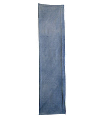 A Length of Arashi Shibori: Indigo Dyed Cotton