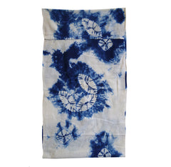 A Shibori Dyed Diaper: Lightweight Cotton