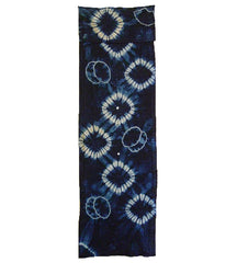A Gorgeous Length of Rustic Shibori: Hand Spun, Indigo Dyed Cotton