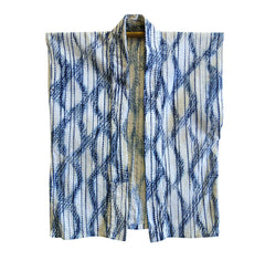 A Two-Process Shibori Han Juban: Beautiful Combination