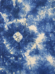 A Length of Mottled Shibori: Kumo or Spiderweb