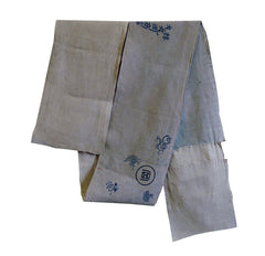 An Obi Shin or Obi Interior: Tenugui Piece