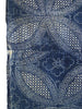 A Length of Indigo Dyed Katazome: Richly Detailed Pattern