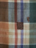 A Colored Plaid Boro Length: Small Patches