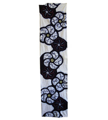 A Length of Fanciful Shibori Cotton: Flowers