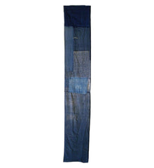 An Indigo Dyed Boro Length: Lightweight Tattered Cotton