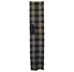 A Length of Boldly Patterned Plaid Cotton: One Patch