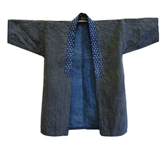 A Beautiful and Humble Noragi: Sashiko Stitched Cotton Work Coat