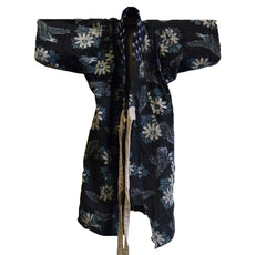 A Small Child's Niko Niko Kasuri Kimono: Patched Cotton