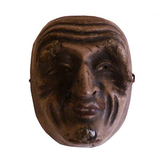 A Miniature Hand Carved Mask #4:  Old Man