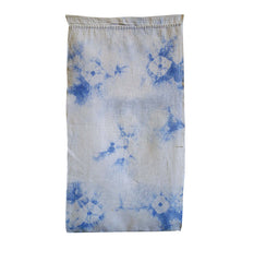 A Softly Dyed Shibori Diaper: Spiderweb