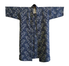 A Beautiful Omi Jofu Jacket: Indigo Dyed Hemp or Ramie