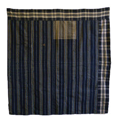 A Reversible Cotton Boro Kotatsugake: Zanshi Panel