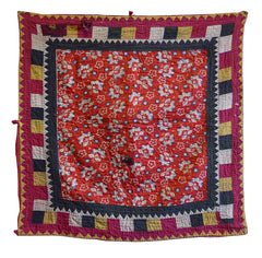 A Square Pieced Sindhi Ralli: Interesting on Both Sides
