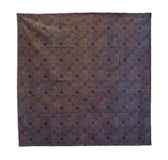 A Square of Indian Woodblock Printed Cotton #1: Barmer, Rajasthan