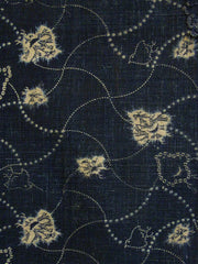 A Length of Beautiful Narumi Kongata Cloth: Chidori Pattern