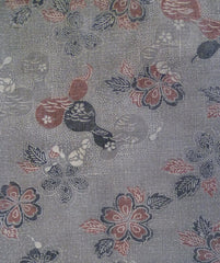 A 19th Century Katazome Fragment: Greys and Stippling