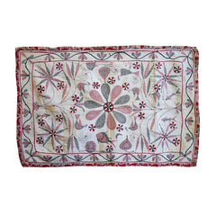 A Beautifully Hand Stitched Bengali Kantha: Rich Imagery