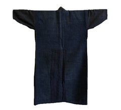 A Heavily Sashiko Stitched Boro Jacket: Interesting Inside-Out