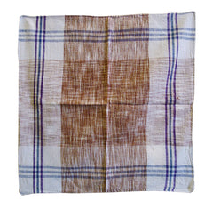 A Square of Khadi Cotton: Indian Hand Spun, Hand Loomed Cloth